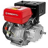 EBERTH 13 PS 4,8 kW Benzinmotor mit Ölbadkupplung (E-Start, 22 mm Wellendurchmesser, Ölmangelsicherung, 1 Zylinder, 4-Takt, luftgekühlt, Seilzugstart)
