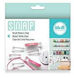 We R Memory Keepers Snap Aufbewahrung Band Clips 6/pkg-small, andere, mehrfarbig