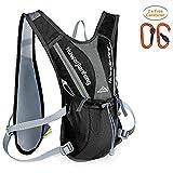 Keethem Hydration Backpacks, 5L Ultra Lightweight Running Backpack Hydration Vest for Trail Marathoner