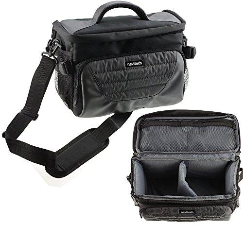 Navitech Digital SLR Kamera schutz Tasche Case Cover Medion Life 20 MP Superzoom-Kamera wie in ALDI