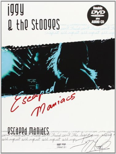 Iggy Pop & The Stooges - Escaped Maniacs(2 DVD+CD)