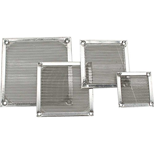 120mm Aluminium Lüfter Filter (InLine Lüftergitter, Aluminium Filter, 120x120mm)