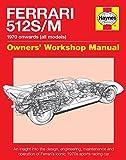 Ferrari 512 S/M: 1970 Onwards (All Marks) (Owners' Workshop Manual)