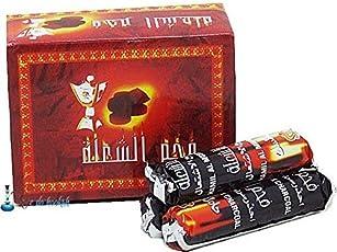 D&SY Hookah Magic Coal - 10 Rolls (100 disks) for Shisha/Hukka / Hookha