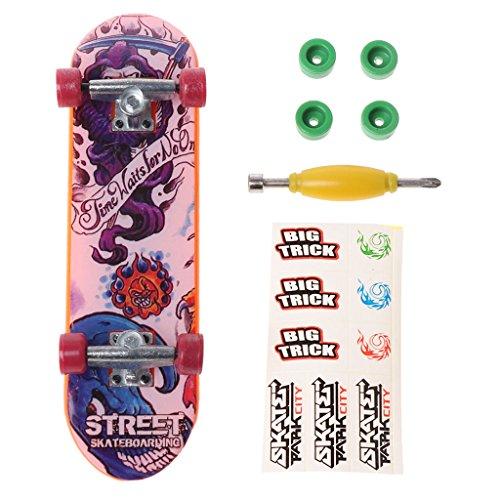 chuxioner Mini-Skateboard Spielzeug, für Finger-Skateboard/Fingerboard/Skate/Trucks für Kinder, 1 Set -