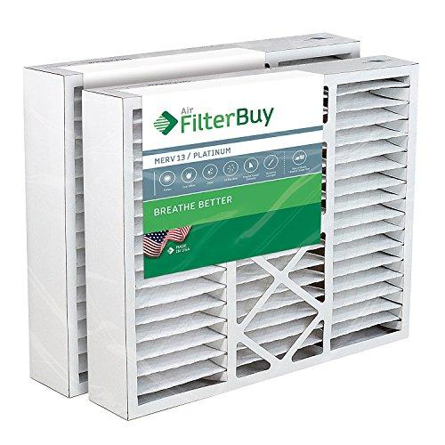Honeywell Ersatz Ofen Filter/Air Filter-AFB Platinum Merv 13(2Pack)