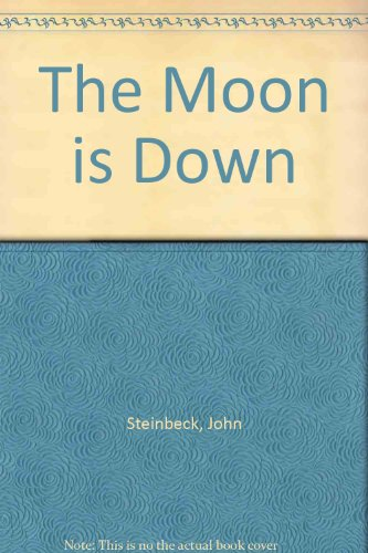 Book cover for The Moon Is Down