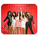 5H Fifth Harmony Customized Standard Rectangle Black Mouse Pad Mat