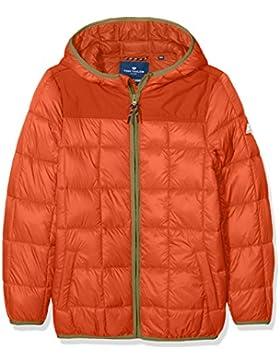 TOM TAILOR Kids Ultra Light Fabric Mix Jacket, Chaqueta para Niños