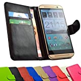 2 in 1 set Fairphone Fairphone 2 Smartphone - Handyhülle Handy Tasche Slide Kleber Schutz Case Cover Etui Schutzhülle Handytasche Book Style + Touch PEN in Schwarz Farbe