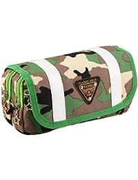Y-BOA Trousse Scolaire Bag Sac Étudiant Fourniture École Porte-Crayons Stylo Stockage Pochette Camouflage