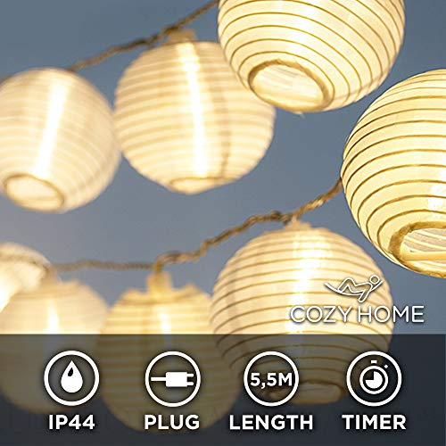 Lampion LED Lichterkette