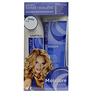 Matrix Total Results Radiance Restoration Kit - Moisture Shampoo + Moisture Conditioner