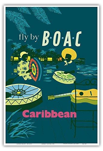caribe-de-acero-caribe-bateristas-volar-alli-por-boac-british-overseas-airways-corporation-vintage-a