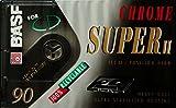 BASF Chrome Super II 90Minuten Audio Kassette