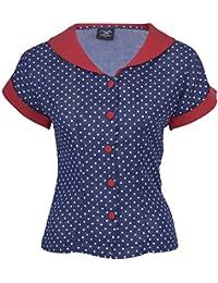 47c541ec2dad29 Suchergebnis auf Amazon.de für: Rote Bluse mit Punkten Polka dots ...