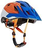 Cratoni Uni AllRide Fahrradhelm Fahrradhelm AllRide, Blue-Orange-White Matt, Gr. 53-60 cm (Herstellergröße: UNI)