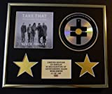 TAKE THAT/CD DISPLAY/ LIMITED EDITION/COA/THE ULTIMATE COLLECTION - NEVER FORGET