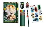 Lego 51890 - Schreibwarenset, Ninjago Movie, 6-teilig