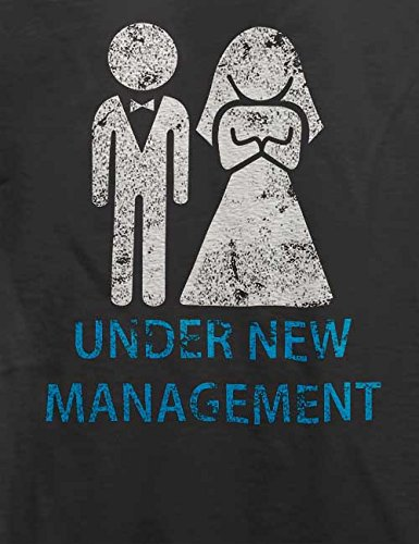 Under New Management Vintage T-Shirt Grau