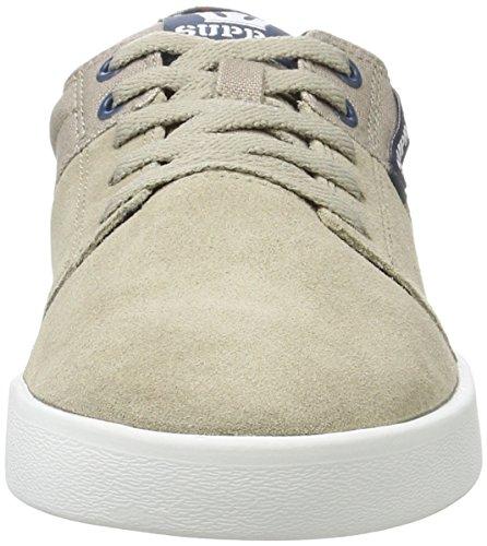 Supra Stacks II, Sneaker Uomo Grün (Vintage Khaki-White)