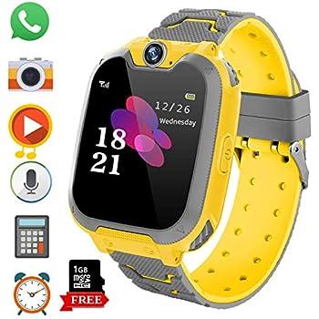 Reloj Inteligente para Juegos Infantiles con MP3 Player - [1GB Micro SD Incluido] Llamada
