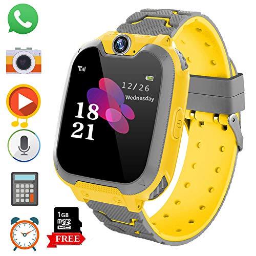 Reloj Inteligente para Juegos Infantiles con MP3 Player - [1GB Micro SD...