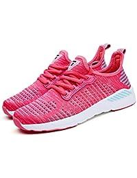 online retailer fc2ae fa460 YAYADI Air Mesh Scarpe da Corsa per Gli Uomini Sneakers Outdoor Traspirante  Confortevole Atletica Scarpa Flat