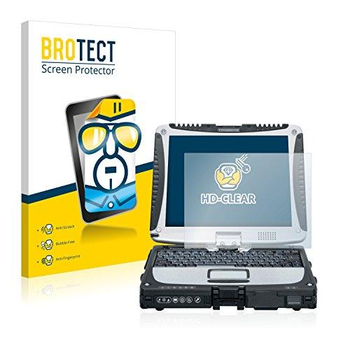 BROTECT Schutzfolie kompatibel mit Panasonic Toughbook CF-19 [2er Pack] - klarer Bildschirmschutz