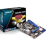AsRock H61M-VG4 - Placa base (1155, H61, 2DDR3, 16 GB, VGA, GBLAN, PCIe 3.0)