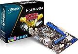 Asrock H61M-VG4 1155 Mainboard Sockel LGA (micro-ATX, Intel H61, 2x DDR3 Speicher, 4x SATA II, D-Sub, RJ-45, 4x USB 2.0)