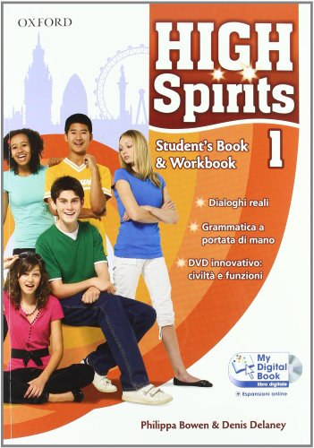 High spirits. Starter-Student's book-Workbook-My digital book-Extra book. Con espansione online. Per la Scuola media. Con CD-ROM: 1