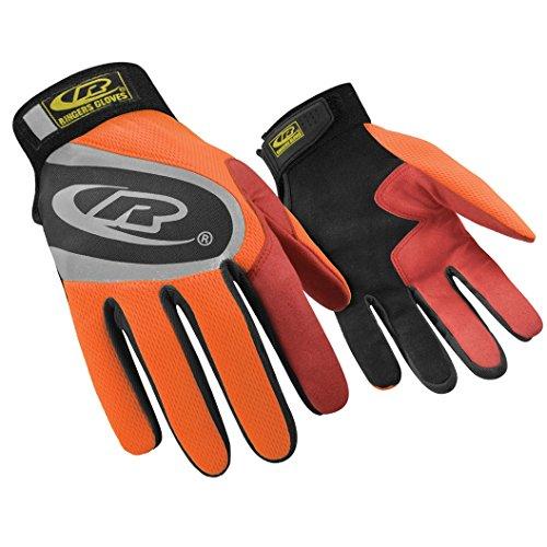 Ringers Handschuhe rg136–10große Authentic Handschuhe, Orange (Große Ringer)