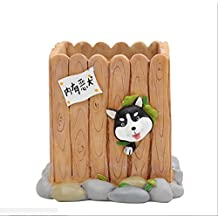 youfui Creative Hund Ornament Home Decor Sukkulente Blumentopf