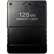 BuyeeA® PS2/PlayStation2 High Speed Memory Card 128MB For Sony PS2 Playstation 2 Games (128MB), [Importado de Reino Unido]