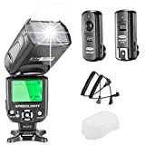 Neewer® NW-562C E-TTL Flash Speedlite Kit for Canon DSLR Camera, Kit Include: (1)NW562C