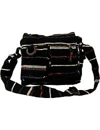 Guru-Shop Schultertasche, Hippie Tasche - Braun, Herren/Damen, Baumwolle, 30x30 cm, Alternative Umhängetasche, Handtasche aus Stoff