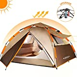 Best Waterproof Tents - ZOMAKE 2 3 Person Family Camping Tent, Automatic Review