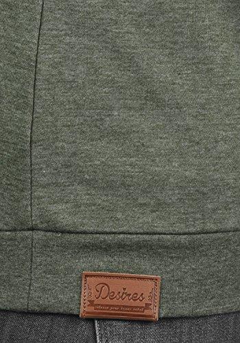 DESIRES Vicky Zipper Damen Sweatjacke Jacke Sweatshirtjacke Mit Stehkragen, Größe:M, Farbe:Climb Ivy (8785) - 5