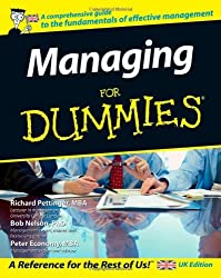 Managing For Dummies by Richard Pettinger (2007-02-02)