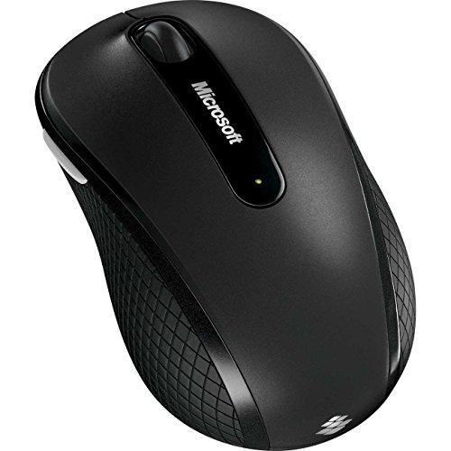 Microsoft Wireless Mobile Mouse 4000 (Maus, grau, kabellos, für Rechts- und Linkshänder geeignet)