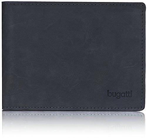 bugatti-quito-querformat-herren-geldborse-493408-leder-125-cm-mit-klappfach-und-reissverschlussfach