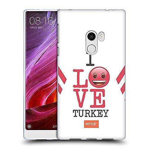 Offizielle Emoji Türkei Ich Liebe Mein Land Soft Gel Hülle für Xiaomi Mi Mix