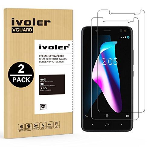 IVoler [2 Unidades] Protector Pantalla BQ Aquaris