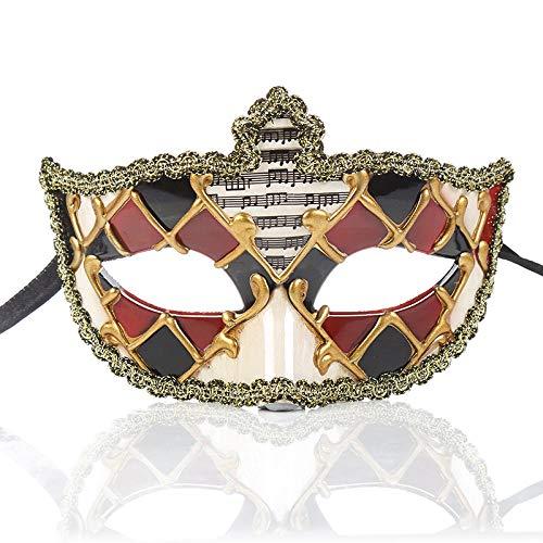 Lieferung Kostüm Am Auf Tag Nächsten - QTJKH Horror Maske Venezianische Maskerade Party Maske Handmade Crafts Fine Festival Halloween Lieferungen Nur @ A