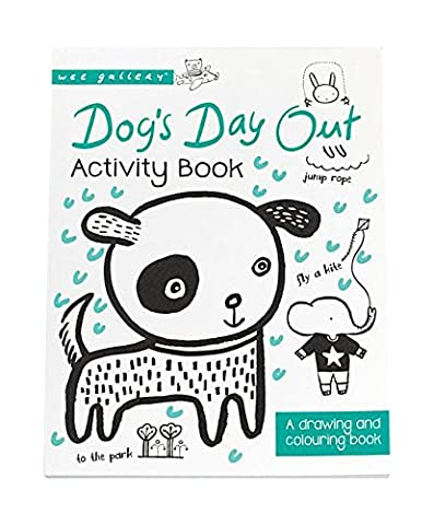 Dog's Day Out: A Drawing and Coloring Book (Wee Gallery Activity Books)