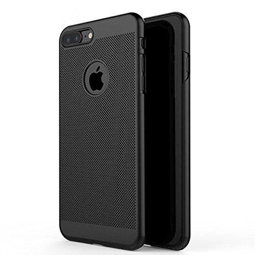 "iPhone 7 Case, Celkase™, iPhone 7 Case Mesh Ultra Slim Flexible Anti-fingerprints Shock & Scratch Resistent Back Case for Apple iPhone 7 -4.7"" -Black…"