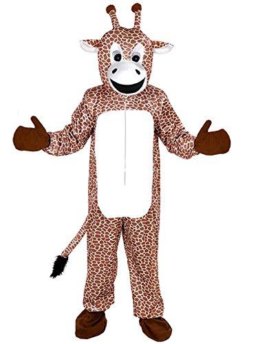 Giraffe Kostüm Einheitsgrösse XXL Fasching Karneval Fastnacht Maskottchen -