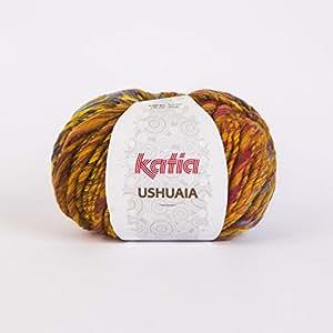 Katia Ushuaia couleur # 613Chunky Aiguilles 9–10mm 100g boules de 53% laine vierge, 47% acrylique