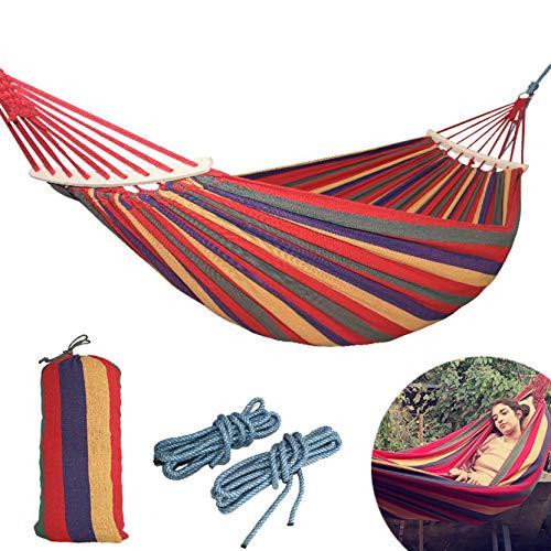 PTICA Lienzo Acampar Aire Libre Hamaca Curva Palillo
